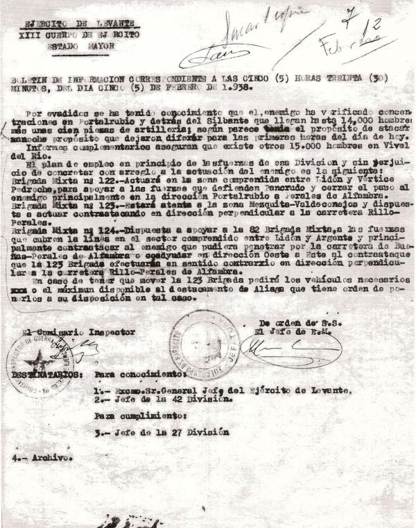 Boletín de información 5 de febrero 1980